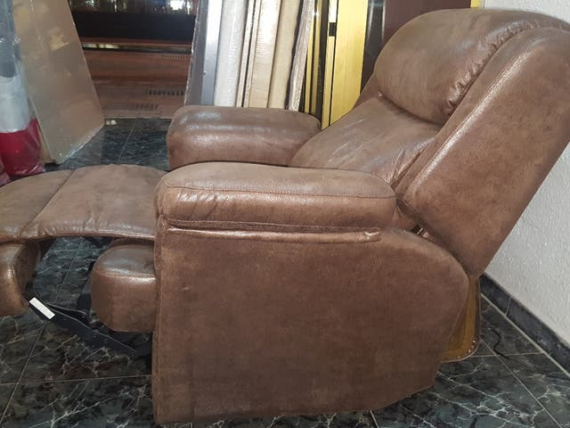 sillon relax con 2 motores independientes(powerfly