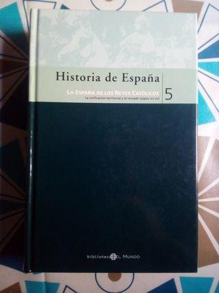 Libro de lectura Historia de España