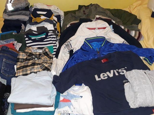 fd7b114ee Lote de ropa bebe niño de 12 a 24 meses invierno de segunda mano por ...