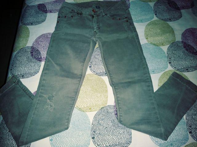 79080e3a0 Pantalon vaquero niña Zara 7-8años de segunda mano por 4 € en ...