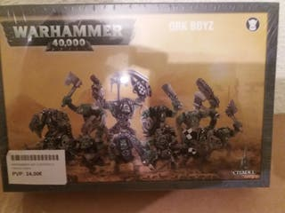 caja warhammer 40k 40000 orkos orcos