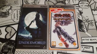 Tekken Drak Resurrection + película Underworld