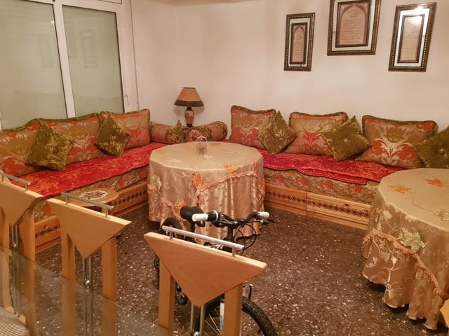 Sofás árabe marroquí salón entero comedor de segunda mano por 1.300 ...