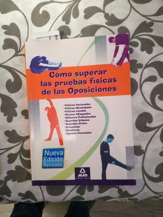 libro pruebas fisicas oposiciones
