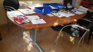 Mesa oficina + 6 sillas