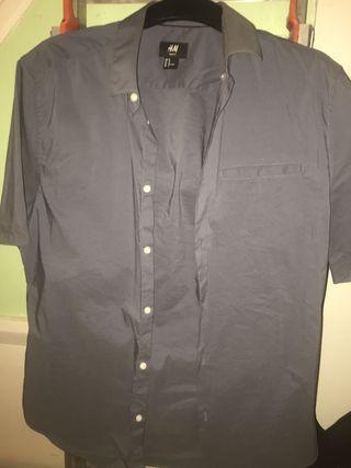 H&M men's short-sleeved shirt