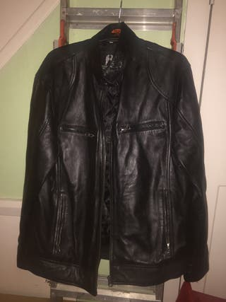 THE LEATHER FACTORY men's leather jacket