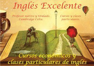 Clases económicas de inglés para principiantes.