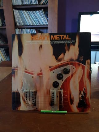 doble disco vinilo heavy metal varios