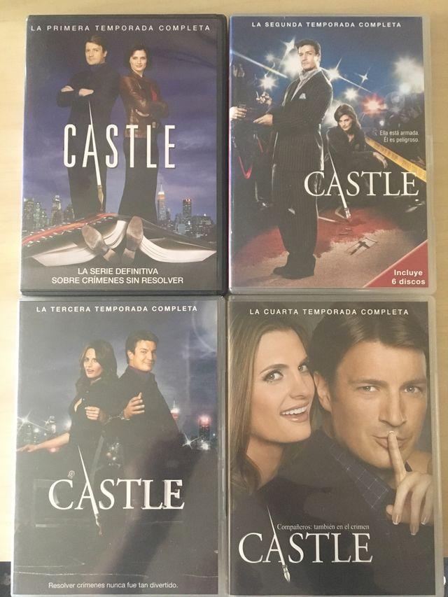 Serie Tv Castle de segunda mano por 5 € en Ripollet en WALLAPOP