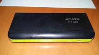 ADATA APT100 - Batería de 10000 mAh, negro y verde