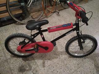 Bicicleta infantil Decathlon 16'