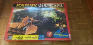 Scalextric Imola F1 7m + Curva + Coches
