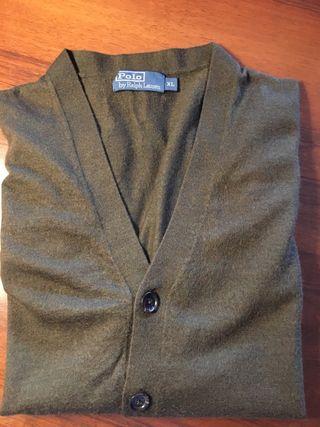 """Chaqueta hombre verde """"Polo Ralph Lauren"""" XL"""
