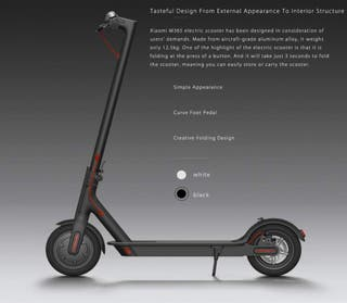 Xiaomi M365 Electric Scooter - Brand New