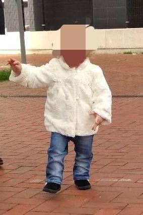 Abrigo para niña 1 - 2 años