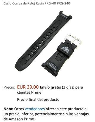 Reloj Casio prg 240 protrek