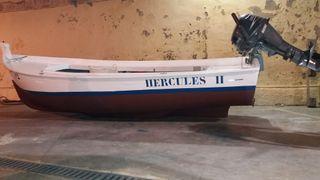 Vendo barco de fibra