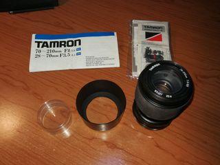 Objetivo Tamron Vintage