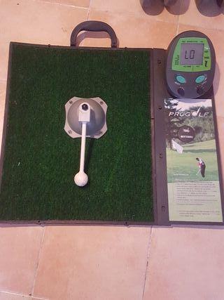 Máquina entrenar practicar golf