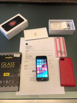 Iphone SE Gris espacial 64gb LIBRE