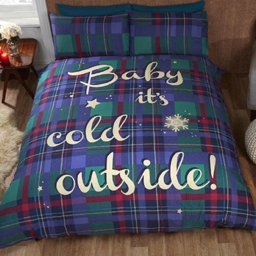 Baby It's Cold Outside Duvet Sets From £16.99