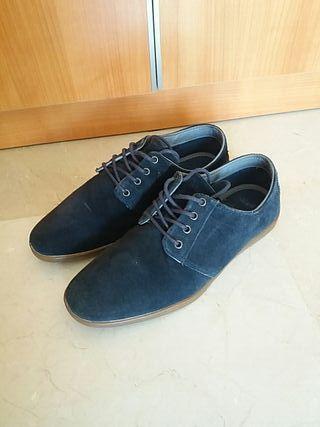 Zapatos Pull&Bear azules