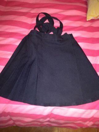 falda uniforme talla 2
