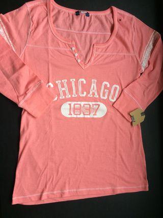 Camiseta CHICAGO estilo fútbol USA