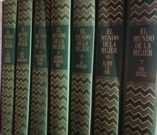 """Enciclopedia """"El mundo de la mujer"""", año 1975"""