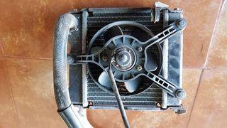 Radiador ventilador kymco superdink