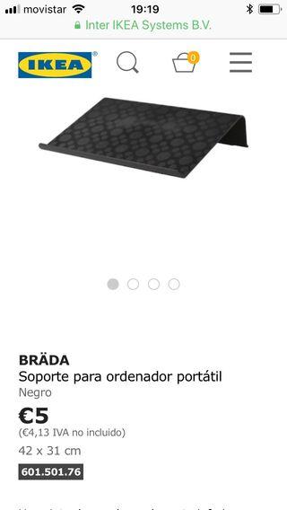 Soporte ordenador Ikea