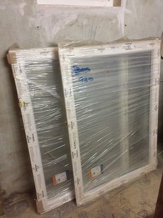 Ventana de pvc de segunda mano en wallapop for Ventana aluminio 120x120