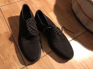 Marron Zapatos Mano Segunda Dustin Piel Ante Hombre De Oscuro Por xq7wqC8XTr 40fed29e2df