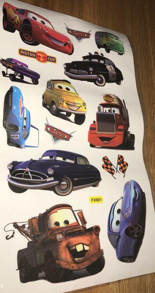 Vinilo Cars nuevo para decorar