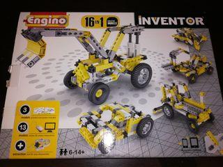 Juego construccion. ENGINO INVENTOR 16 EN 1.
