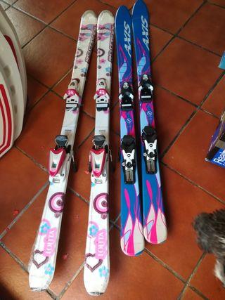 esquís nuevos