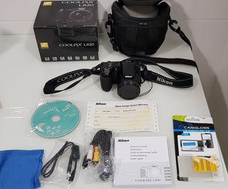 Cámara Nikon Coolpix L820