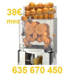 Exprimidor automatico zumo de naranja maquina bar