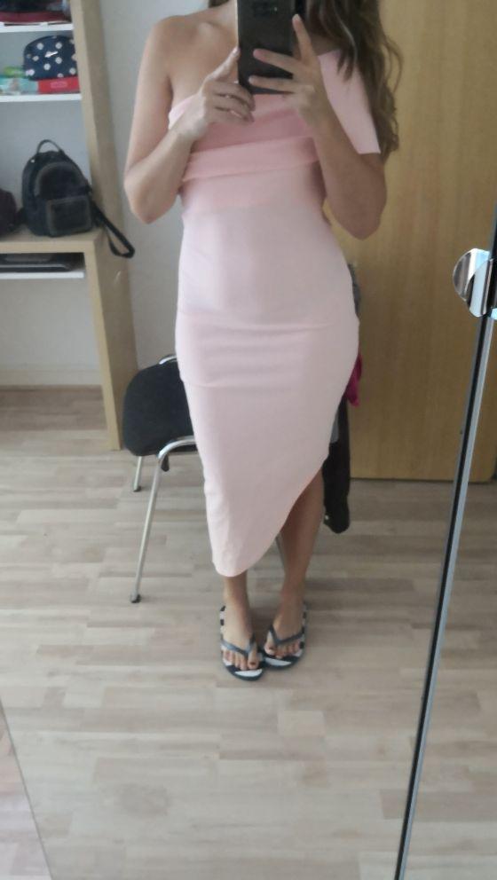 Dress/Pink dress/ Elegant dress