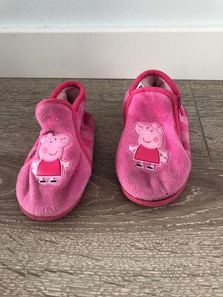 Zapatillas de ir por casa Peppa Pig talla 23