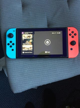 Nintendo Switch Console with Joy Cons
