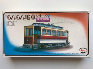 Maqueta de construcción Tranvía TOKYO