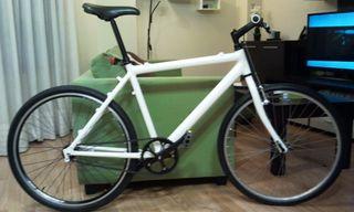Bicicleta fixie (restaurada)