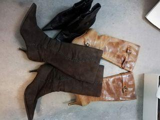 Lote de botas y botines piel talla 37 T37