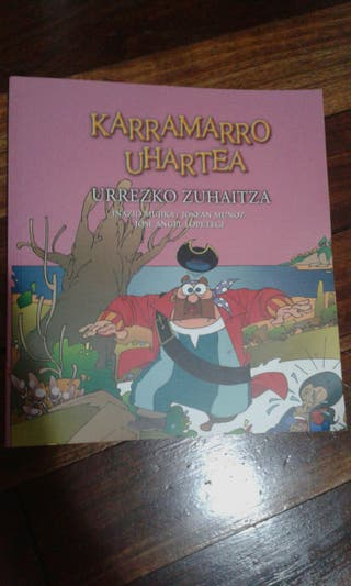 """Libro """"KARRAMARRO UHARTEA: URREZKO ZUHAITZA"""""""