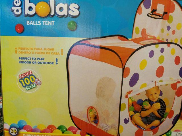 4f223583b Casa de bolas de segunda mano por 15 € en Fuenlabrada en WALLAPOP