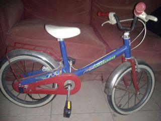 bicicleta niño 16pulgadas