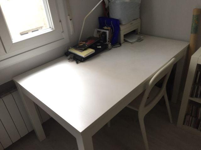 Mesa de comedor extensible Ikea de segunda mano por 50 € en Bilbao ...