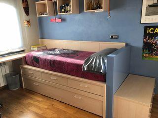 Cama Nido , dormitorio juvenil